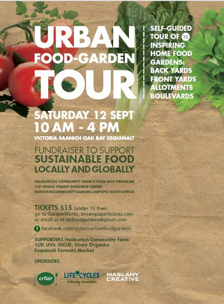 Tour our urban food gardens
