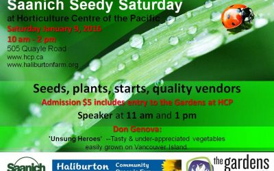 Saanich Seedy Saturday!