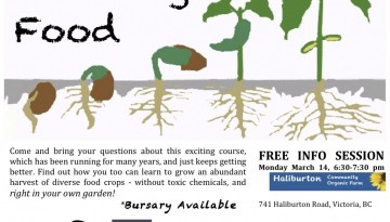 Growing Food in the City: Free Info Class March 14
