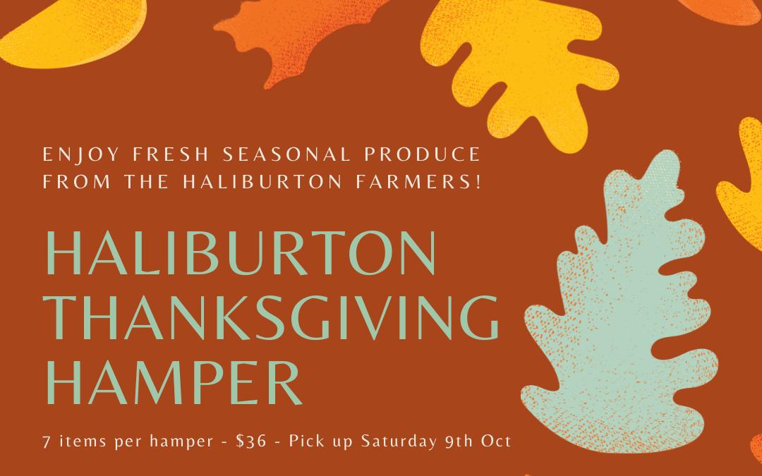 Thanksgiving Food Hampers!